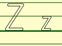 Z的书写格式