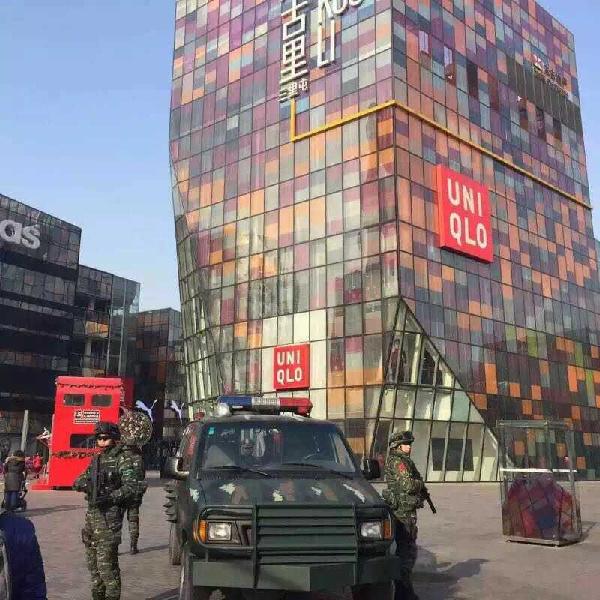 """北京警方圣诞启动""""安保黄色预警"""""""