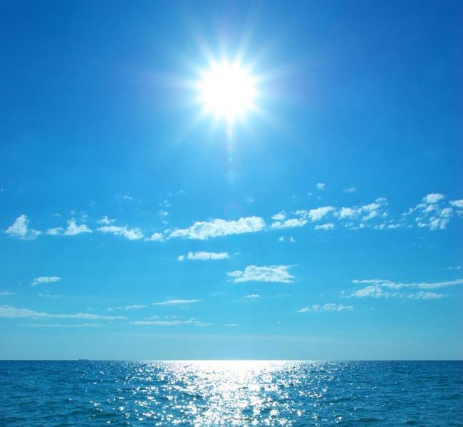 小学英语作文:the sea大海