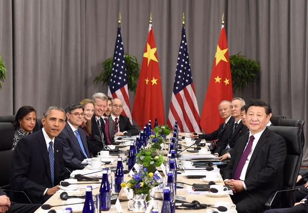 """中美发布联合声明 聚焦""""核安全"""""""