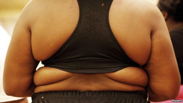 VOA慢速英语:研究表明:胖人比瘦人多