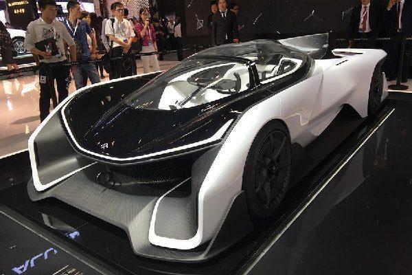"""""""新能源车""""闪耀北京车展"""