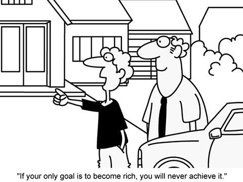 2016年6月英语四级作文预测范文:富裕是人生的唯一目标吗?