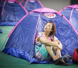 中国大学里为何出现爱的帐篷