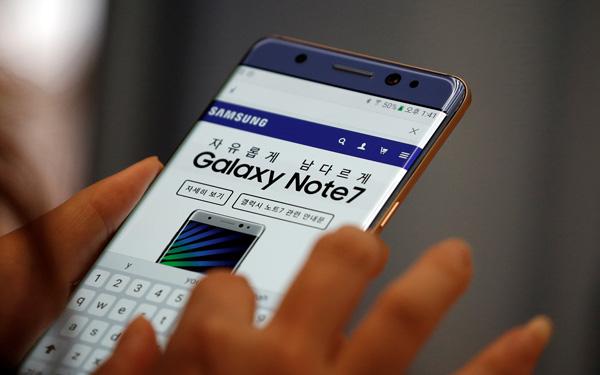 三星Note7全球停售 建议关机