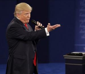美媒看大选二辩谁是赢家(附二辩全程视频)