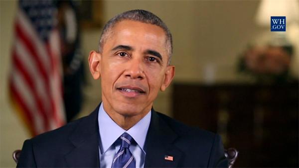 奥巴马发表任期内最后一次新年贺词