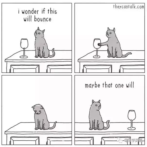 如果动物会说人话,它们会说什么?国外网站 theycantalk 通过一组逗趣的动物漫画,让你能够更生动地理解动物的思维。