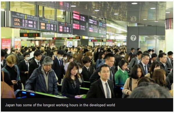 加班不肯走 日本公司用无人机赶员工回家