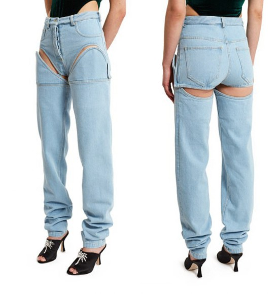 一款比一款更奇葩:盘点这些年被玩坏的牛仔裤