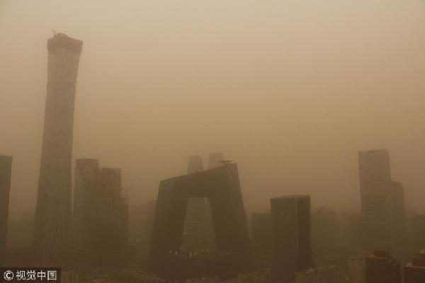 北方迎来严重沙尘天气 如何产生?如何防护?