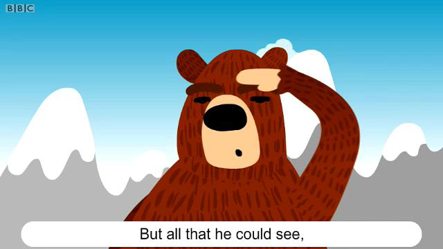BBC英语儿歌 The Bear went over the Mountain