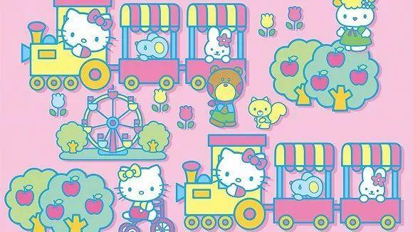 少女心爆棚!日本Hello Kitty主题新干线粉嫩出发