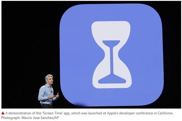 苹果推出新应用 专治手机上瘾