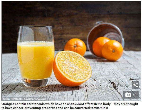 研究:橙汁冻了再喝有助吸收