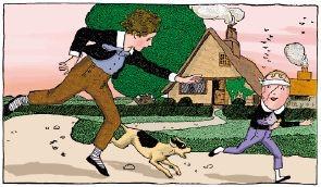 原版美国少儿英语:03.JACK HORNER AND THE PIE