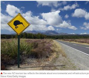 嫌游客太多破坏环境 新西兰将向外国游客征税