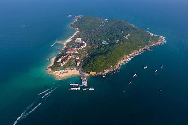 """海南允许个人开发无人海岛 成为""""岛主""""不再是梦"""