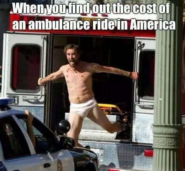 """美国女子腿被卡在站台却不让叫救护车 因为""""负担不起"""""""