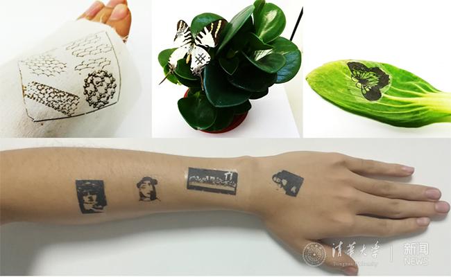 中国科学家研制出纹身式电子皮肤 可监测健康状况