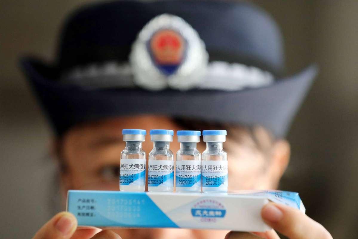 中央政治局常委会听取问题疫苗案调查问责汇报