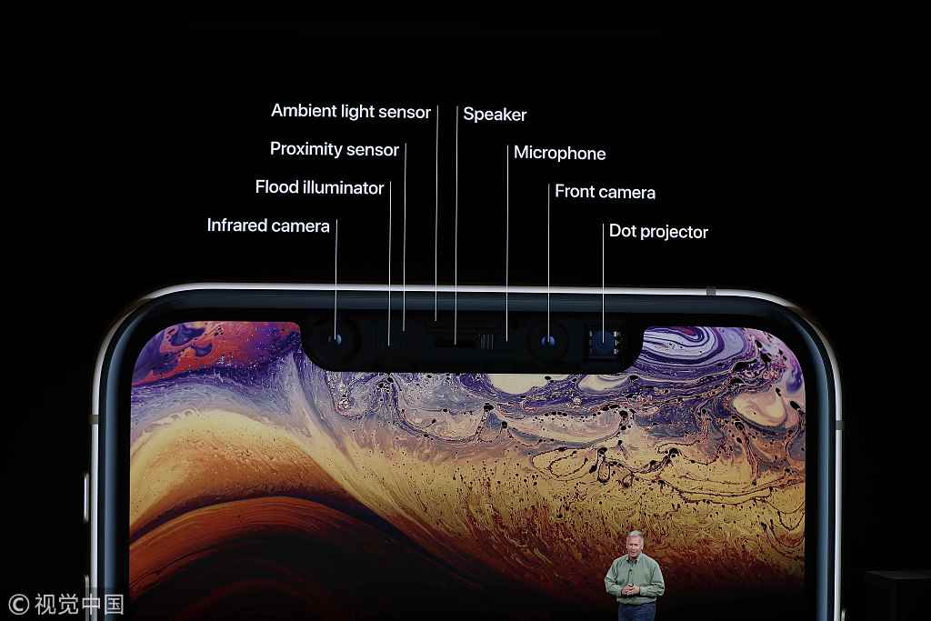 "iPhone XS系列陷""美颜门""外国用户称自拍被过度美化"