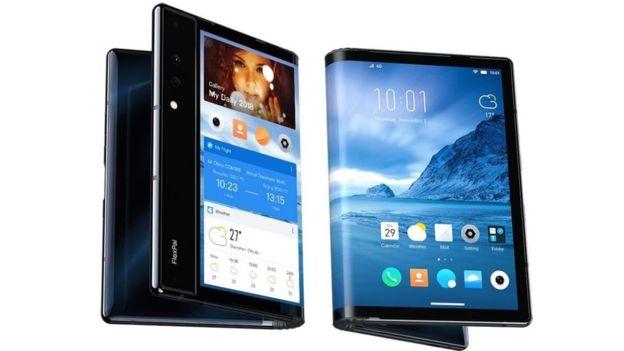 全球首款折叠屏手机亮相,平板手机从此二合一