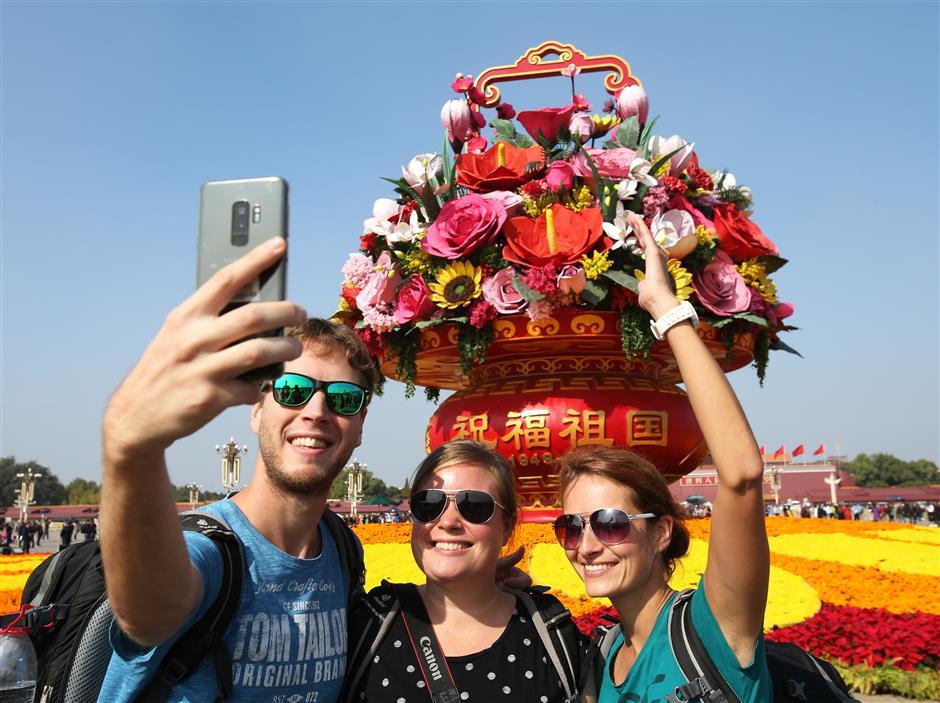 报告:中国2030年将成世界头号旅游目的地