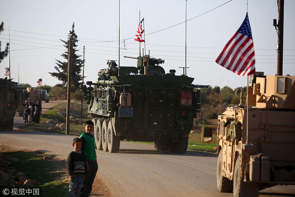 白宫称美国已开始从叙利亚撤军