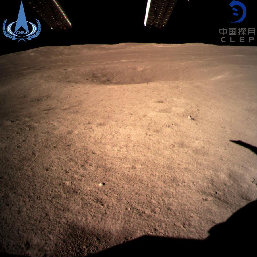 嫦娥四号成功着陆月球背面