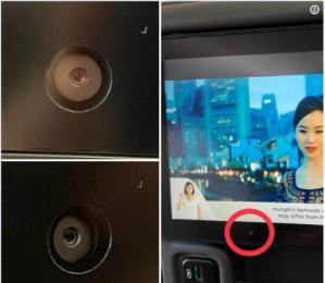 """航班座椅上的摄像头可能随时在""""监视""""你"""