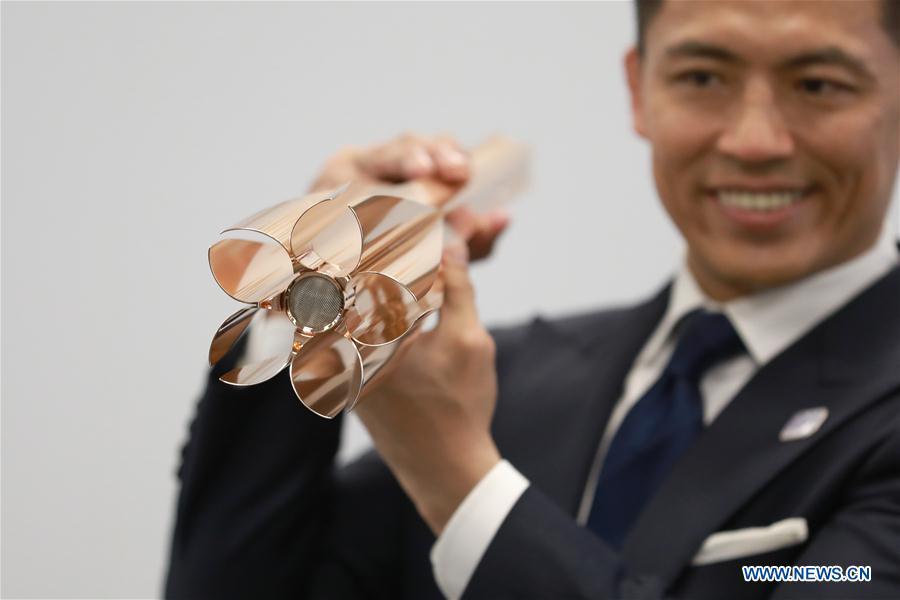 2022年东京奥运会火炬样式揭晓 灵感源自樱花