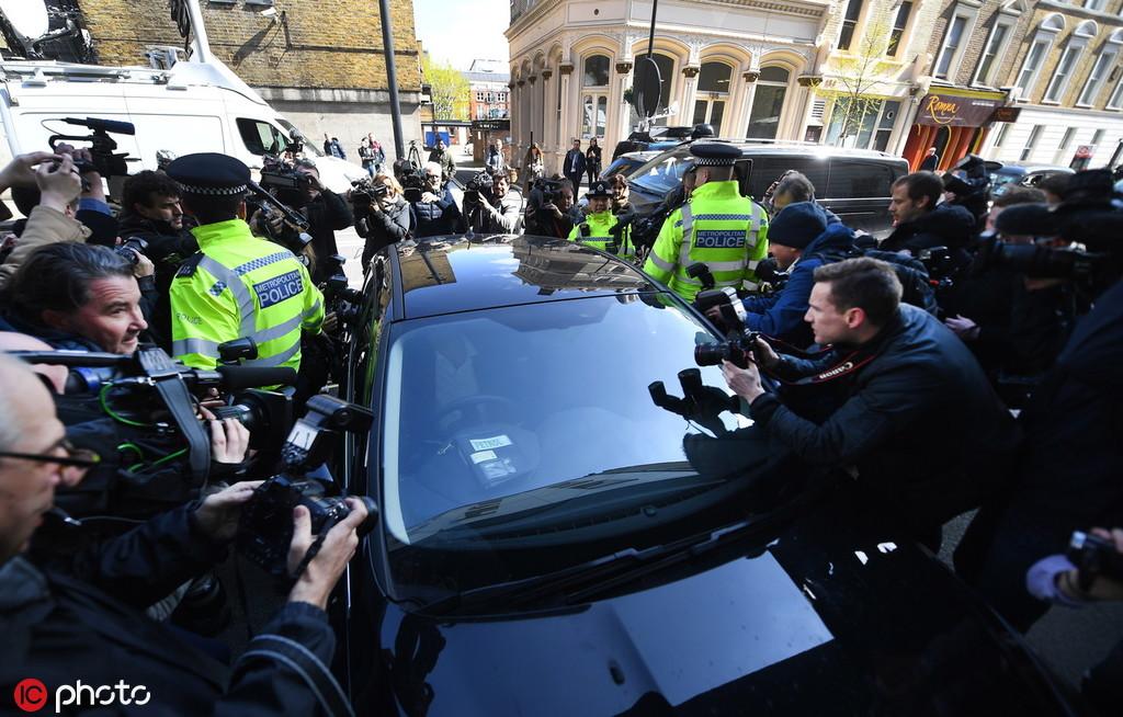 阿桑奇伦敦被捕 或被引渡美国