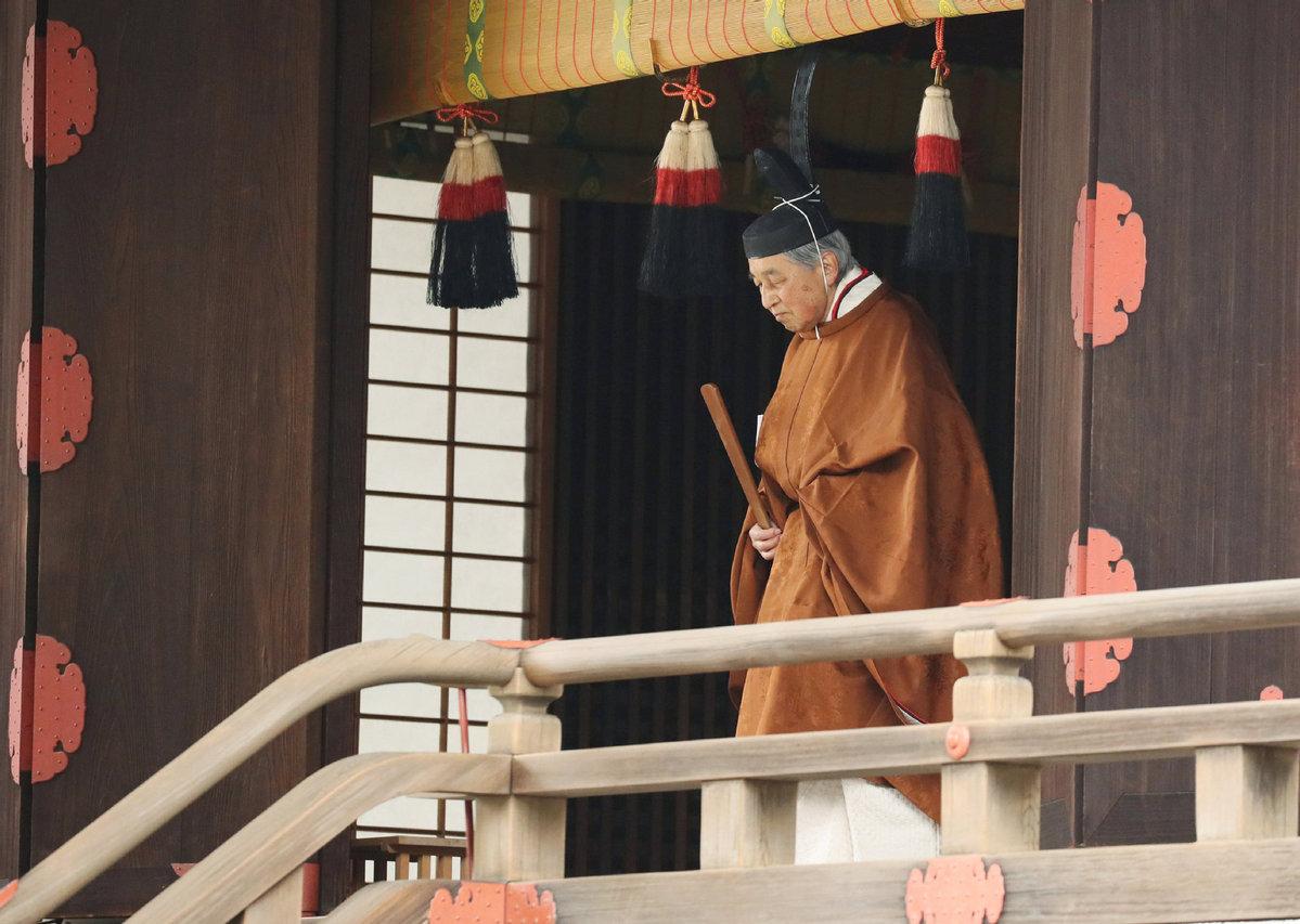 """日本明仁天皇今日退位 明日迎来""""令和""""时代"""