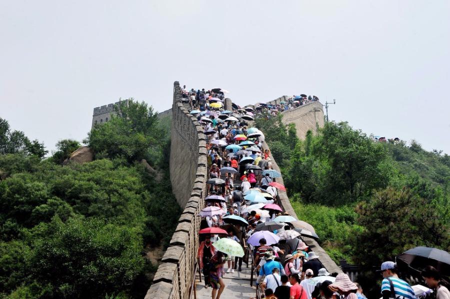 八达岭长城下月起网络实名预约售票 单日游客限6.5万人次