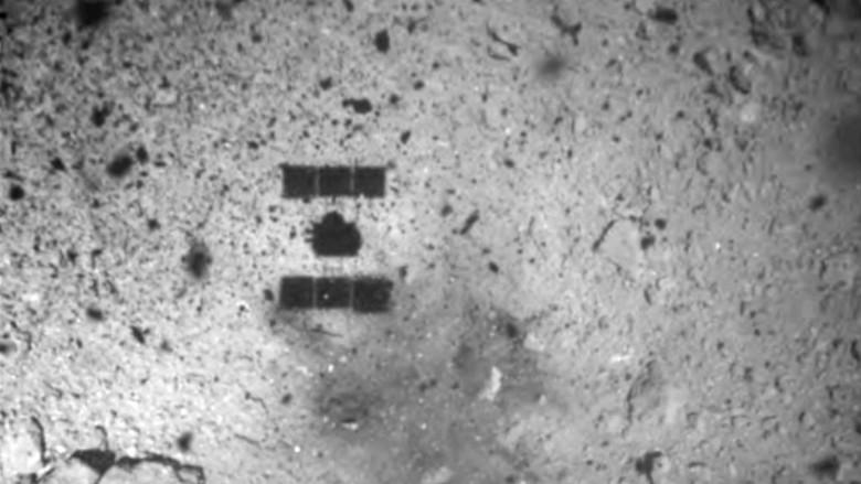 日本宇宙飞船完成小行星着陆