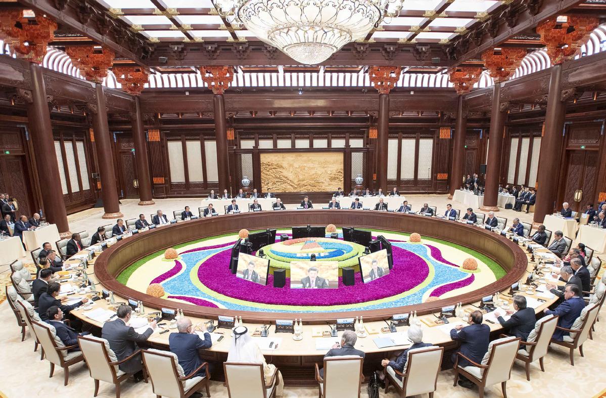 每日一词∣中国特色大国外交 major country diplomacy with Chinese characteristics