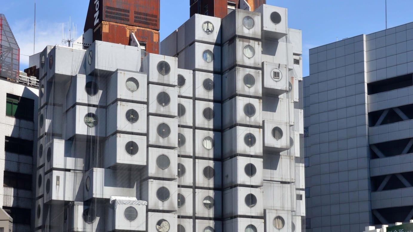 日本的建筑师把建筑当作活的有机体