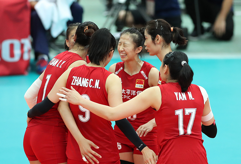 每日一词∣女排精神 the fighting spirit of the Chinese women